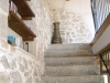 stone staircase to 1st floor