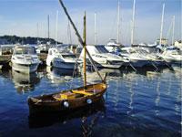Porec harbour, Istria