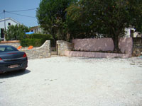 Parking area in Kovaci, Istria